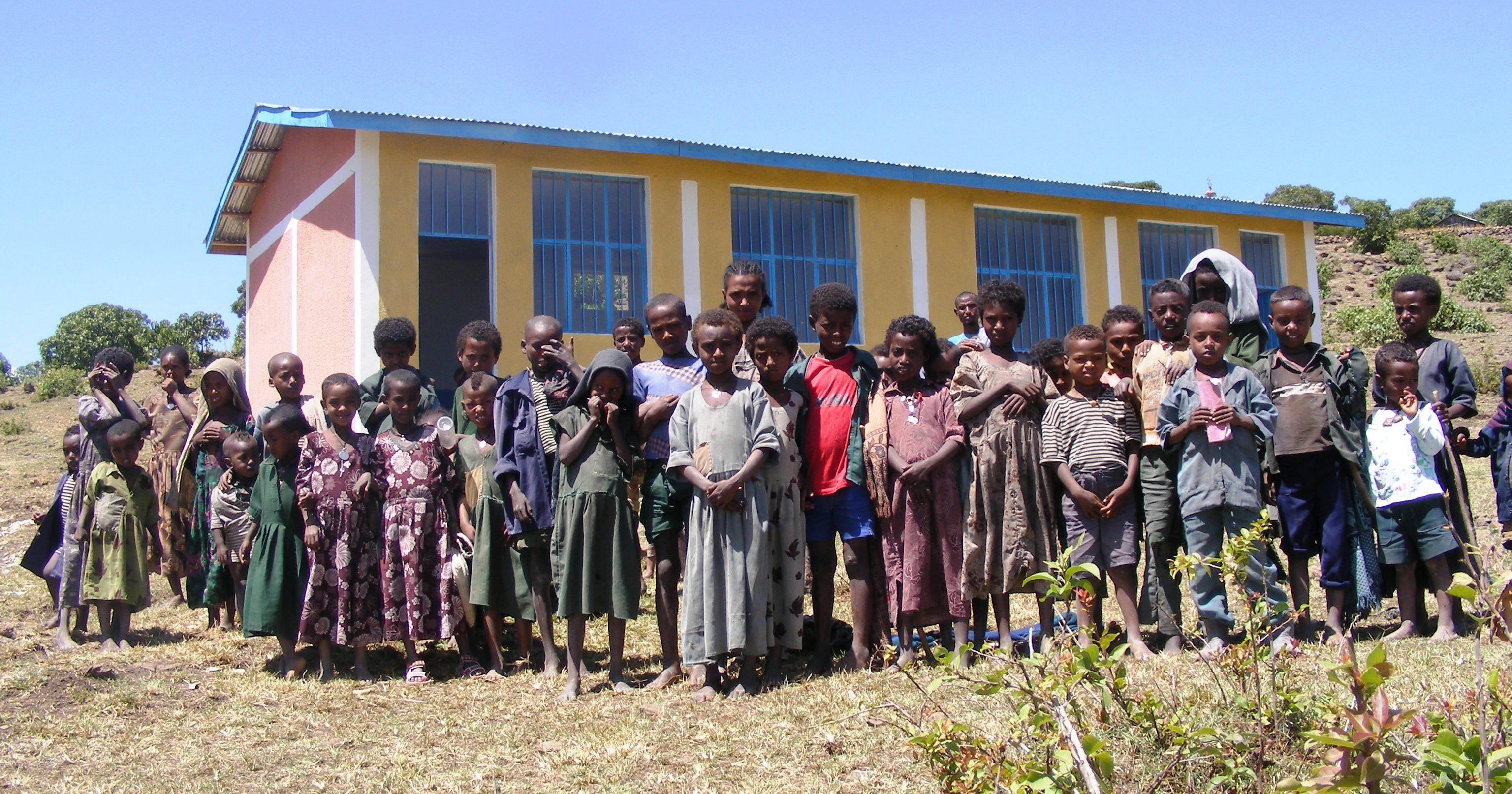 Gebru Warka Primary School | Barak Raviv Foundation